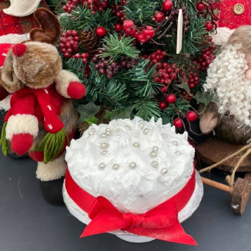 Luxury Christmas cake available to order
