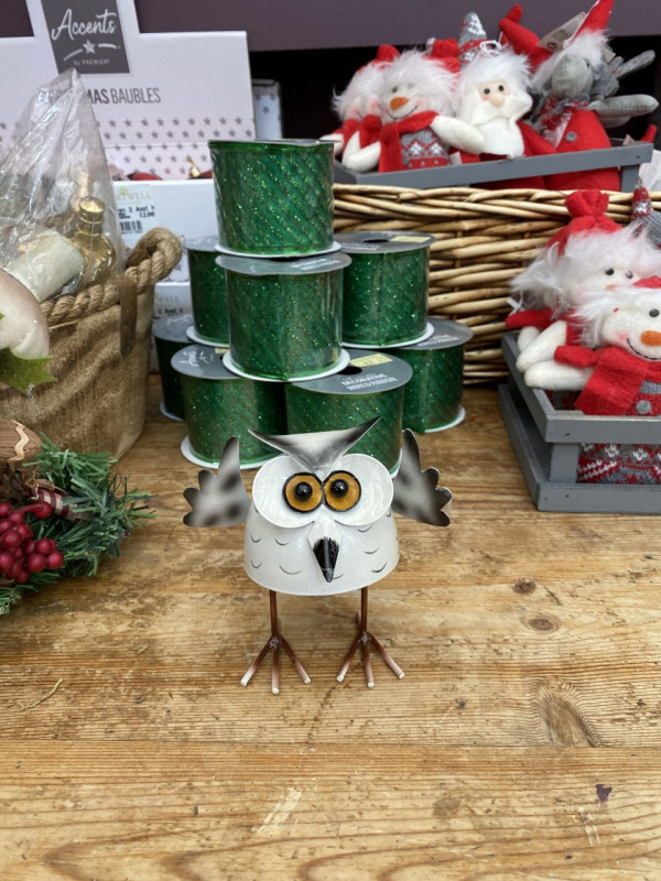 Christmas bobbin' Owl - Small