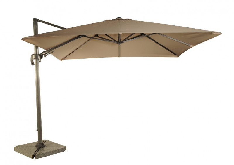 Bramblecrest Chichester 3m Round Parasol & Plastic Base - SOLD OUT