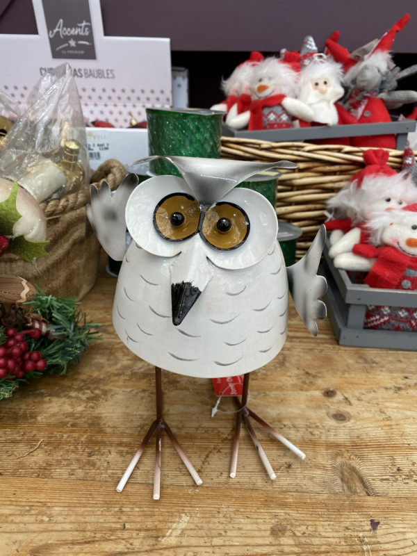 Christmas bobbin' Owl - Large