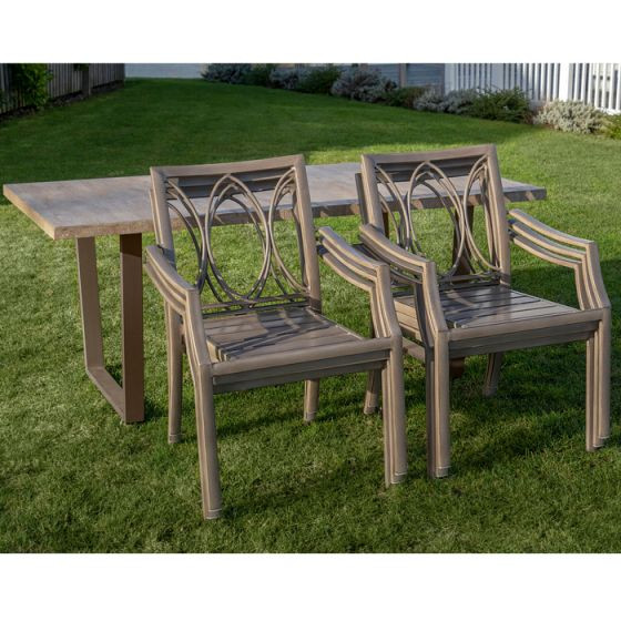 Bramblecrest Dovedale Rectangular Dining Set – 6 Seater photo