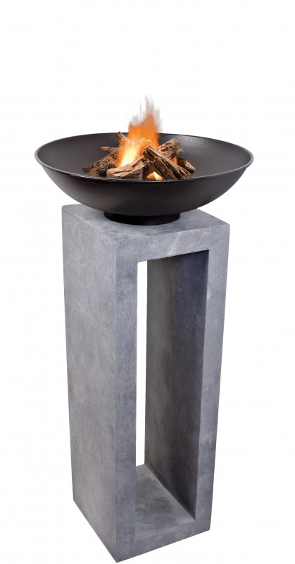 Firebowl & Square Console photo