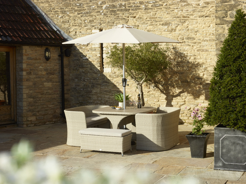 Tetbury 8 Seater Balcony Set photo