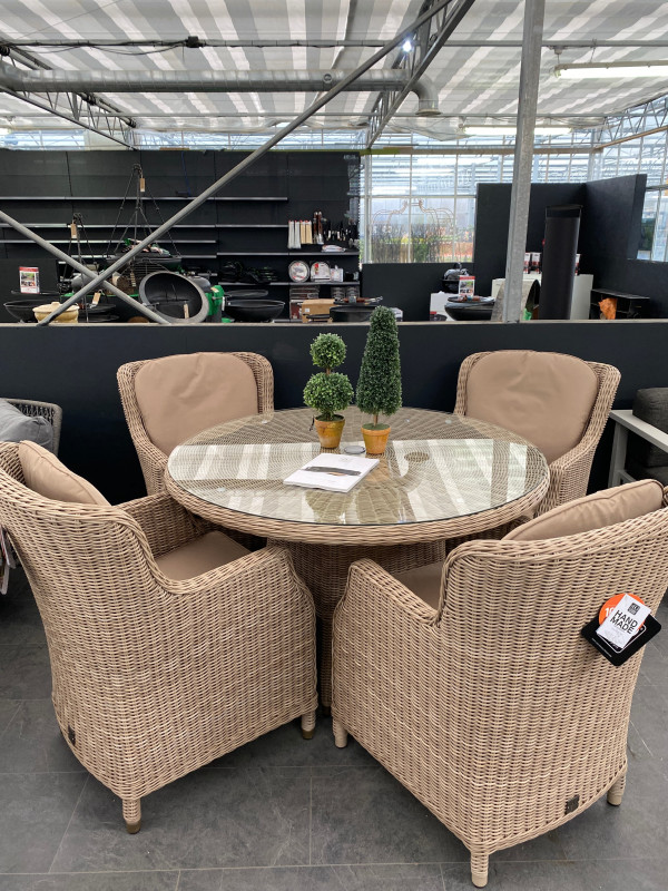 4 Seasons- Brighton 4 seater Dining Set