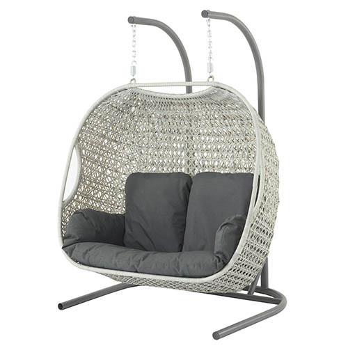 Bramblecrest Monterey Dove Grey Double Hanging Cocoon- SOLD OUT