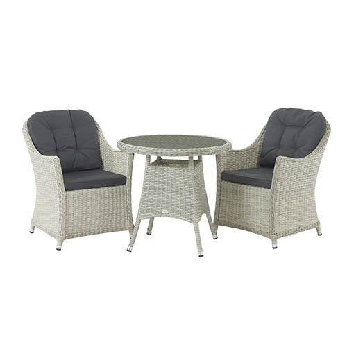 Bramblecrest Monterey Dove Grey Bistro Set photo