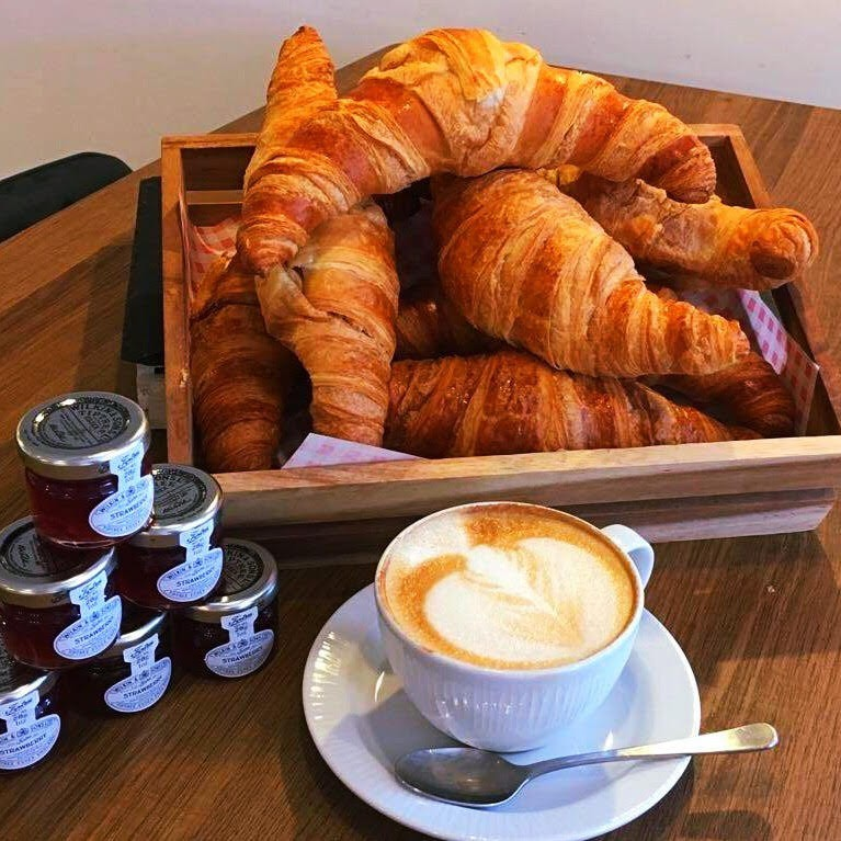 Croissants and Tea