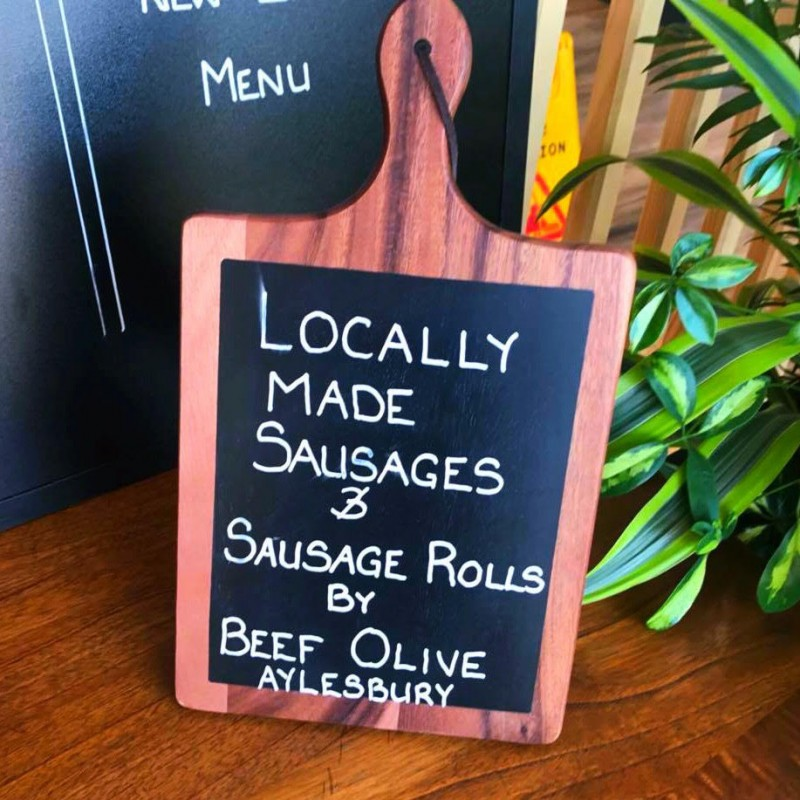 Locally Sources Sausage Rolls